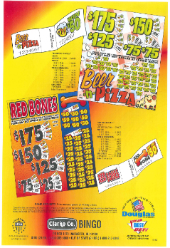 Beer and Pizza - Bingo Jar Tickets