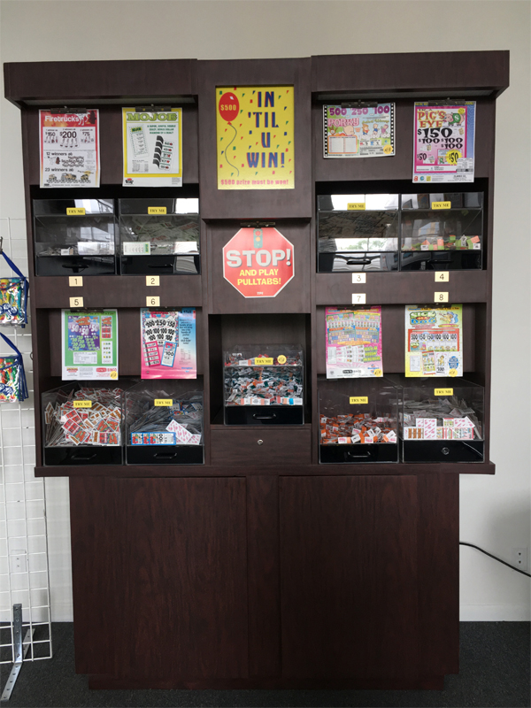 Bingo Display Cabinet for Sale