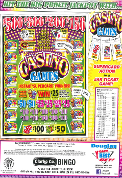 Casino Games - Bingo Supplies - Sale Products