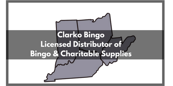Clarko Bingo a Licensed Distributor of Bingo & Charitable Supplies