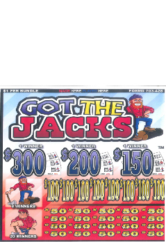 Got the Jacks - Bingo Jar Tickets