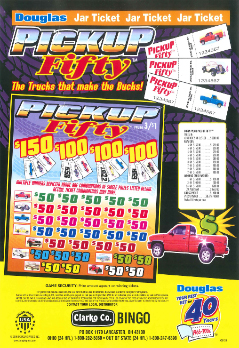 Pickup Fifty - Bingo Jar Tickets