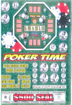 Poker Time - Coin and Boards