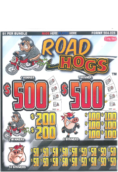 Road Hogs - Bingo Jar Tickets