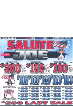 Salute Joe - 5 window instant