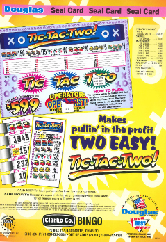 Tic Tac Two - Bingo Supplies - Sale Products